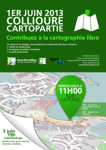 Mapping party a Cotlliure l'1 de juny